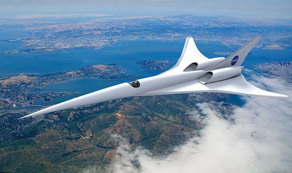 Nasa Concorde 1