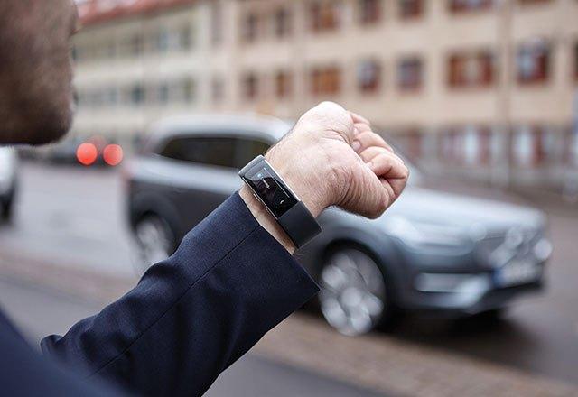 Volvo Microsoft bracelet