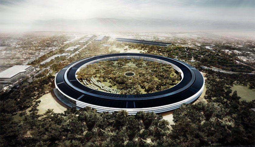 Apple Campus 2 - project rendering