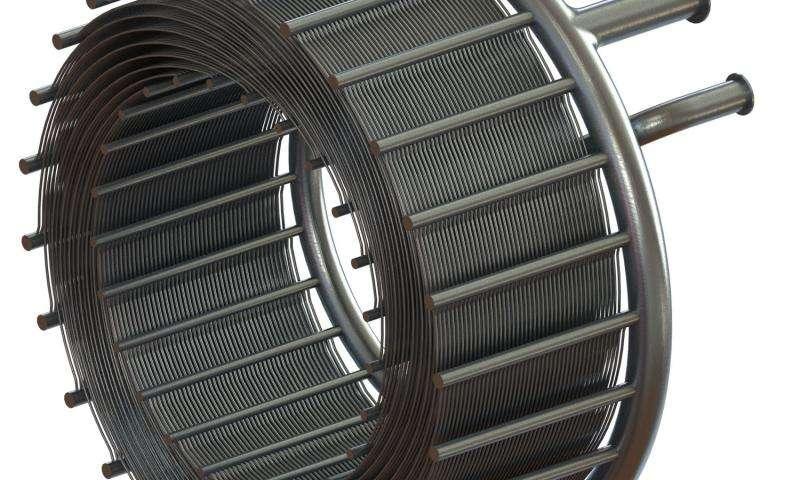 SABRE precooler - photo credit - Reaction Engines Ltd