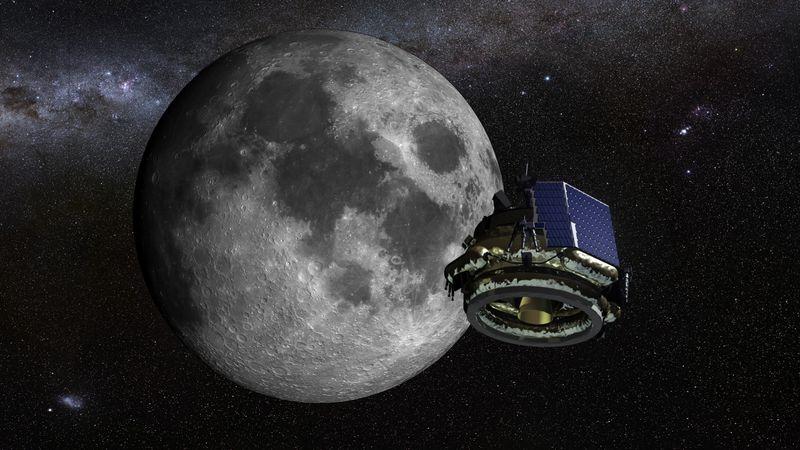 Moon express rendering