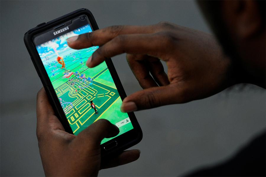 Pokemon hunting anyone?!  - photo credit Reuters