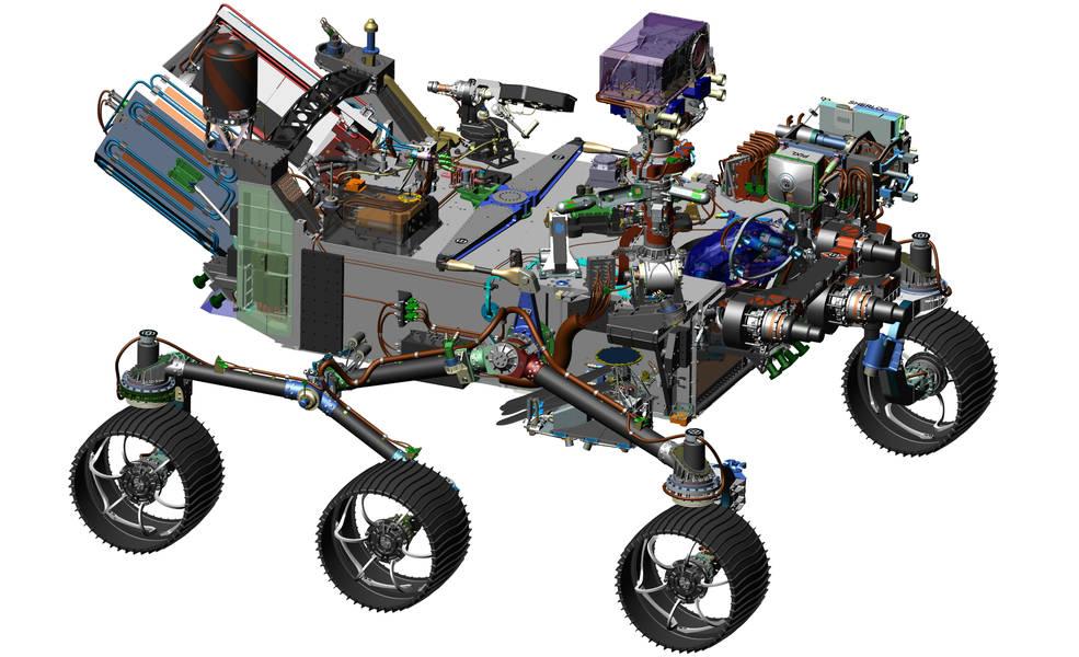 Rover Mars 2020 a