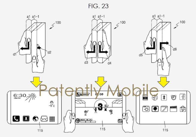 Samsung floating display 1