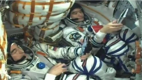 Soyuz cockpit july 2016