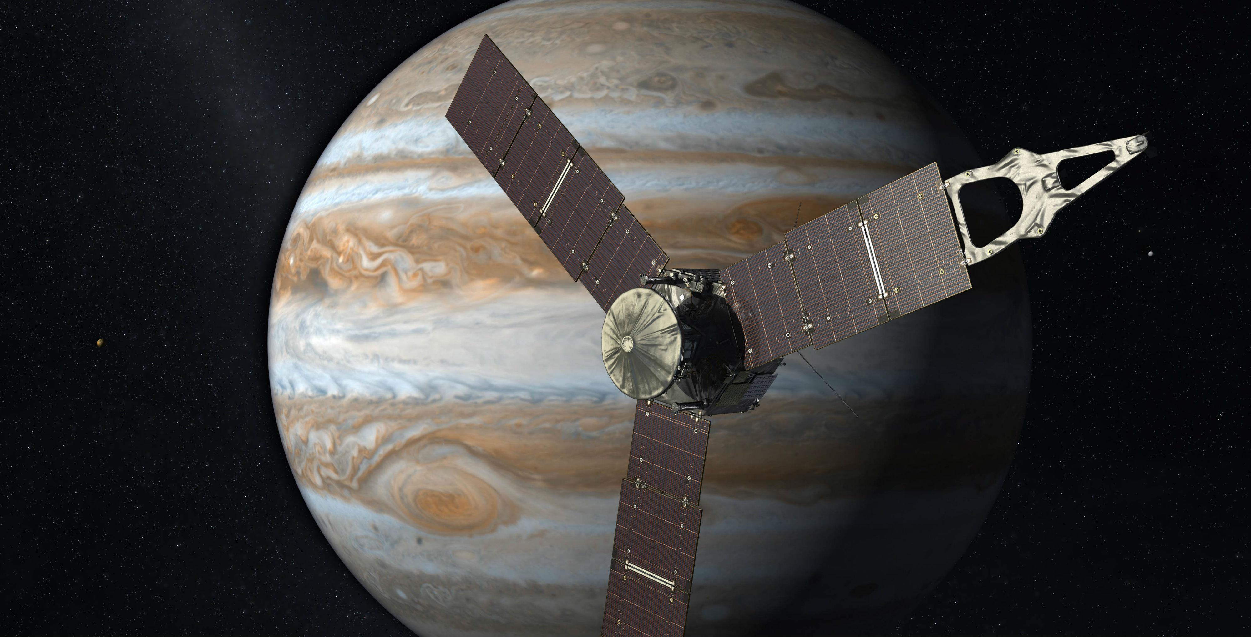 Junona Jupiter foto NASA
