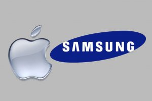 Apple Vs. Samsung - illustration credit luckyrobot.com