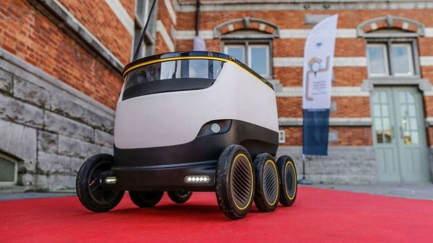 Image result for just eat robot delivery